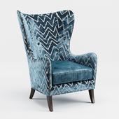 Massoud Viviette Wing Chair