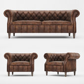 """Кресло и диван """"Челси"""" DLS"""