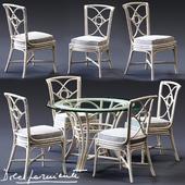 Dolcefarniente ORTENSIA Chair & IRENE Table