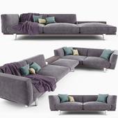 Sofa - corner composition