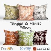 Decorative pillows Dot and bo. set 033