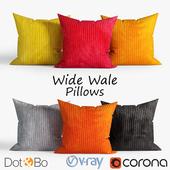 Decorative pillows Dot and bo. set 034