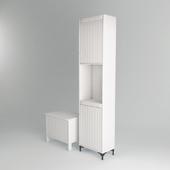 Bathroom IKEA Silveran set