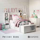 Set for baby Girl Plaid bedroom