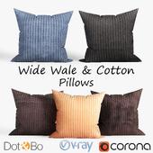 Decorative pillows Dot and bo. set 035