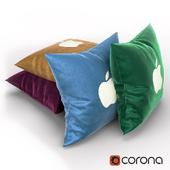 Apple pillow set