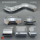 Refrigerated showcase Criocabin Evodue