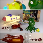 Retro Sci-Fi toys