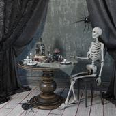 Creepy halloween set