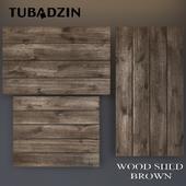 Tubadzin Wood Shed Brown