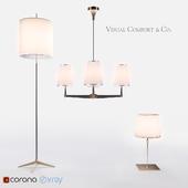 Visual Comfort lighting set
