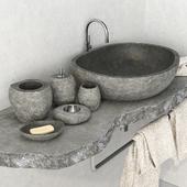 Stone washbasin / Stone washbasin