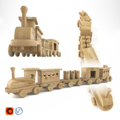 Wooden Toys_Train