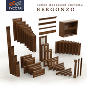 Facade systems for kitchens and furniture Bergonso