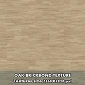 Oak Brickbond Seamless Wood Flooring