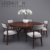 Table and chairs from Lexington Macarthur