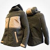 Wrangler winter two-tone textile jacket