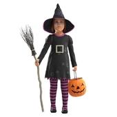 Girl in costume