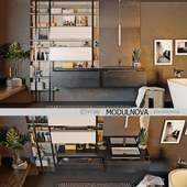 Set of bathroom furniture MODULNOVA Moon Gola