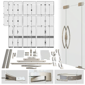 A set of glass doors Dorma ARCOS
