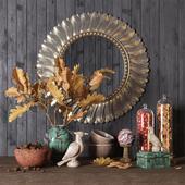Autmn decorative set