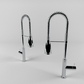 Kitchen faucet with shower