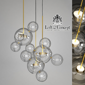 ПОДВЕСНОЙ СВЕТИЛЬНИК GIOPATO & COOMBES BOLLE BLS 14C CHANDELIER