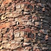 Matrix of ancient stone masonry