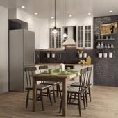 Scandinavian style kitchen I Scandinavian style kitchen