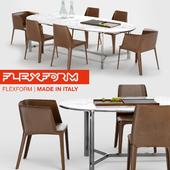 Flexform Dining Set