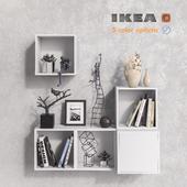 Модульная мебель IKEA, аксессуары и декор set 7