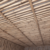Bamboo ceiling / Bamboo ceiling