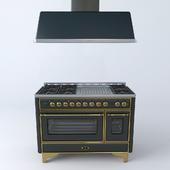 """Кухонный блок """"MAJESTIC """" ILVE M-120"""