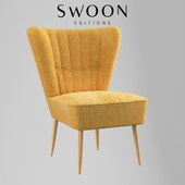 Fitz Cocktail Chair by Swoon