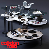 Cattelan Italia Coffee Tables Set 02