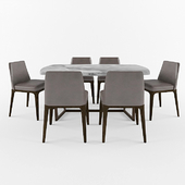 sophie chair and tridente table