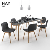Hay chair table set