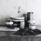 Kitchen Set by Morgan&Finch