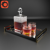 Glass Whiskey Set