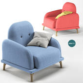 Ziinlife single sofa armchair