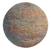 Old brick masonry
