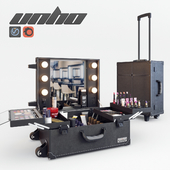 Makeup suitcase Unho