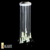 Подвесной светильник Sagarti Flora, арт. Fl.P.60/Wh (ОМ)