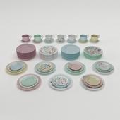 Popi porcelain tableware