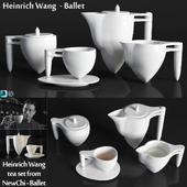 Heinrich Wang чайный сервиз из коллекции NewChi - Ballet