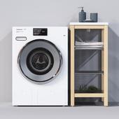 Washing machine Miele WMV960WPS