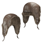 Hat with ear flap Aviator