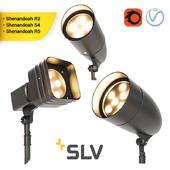 SHENANDOAH set of street lights
