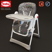 Highchair Baby Prestige Avion Comfort