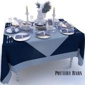 Сервировка Pottery Barn